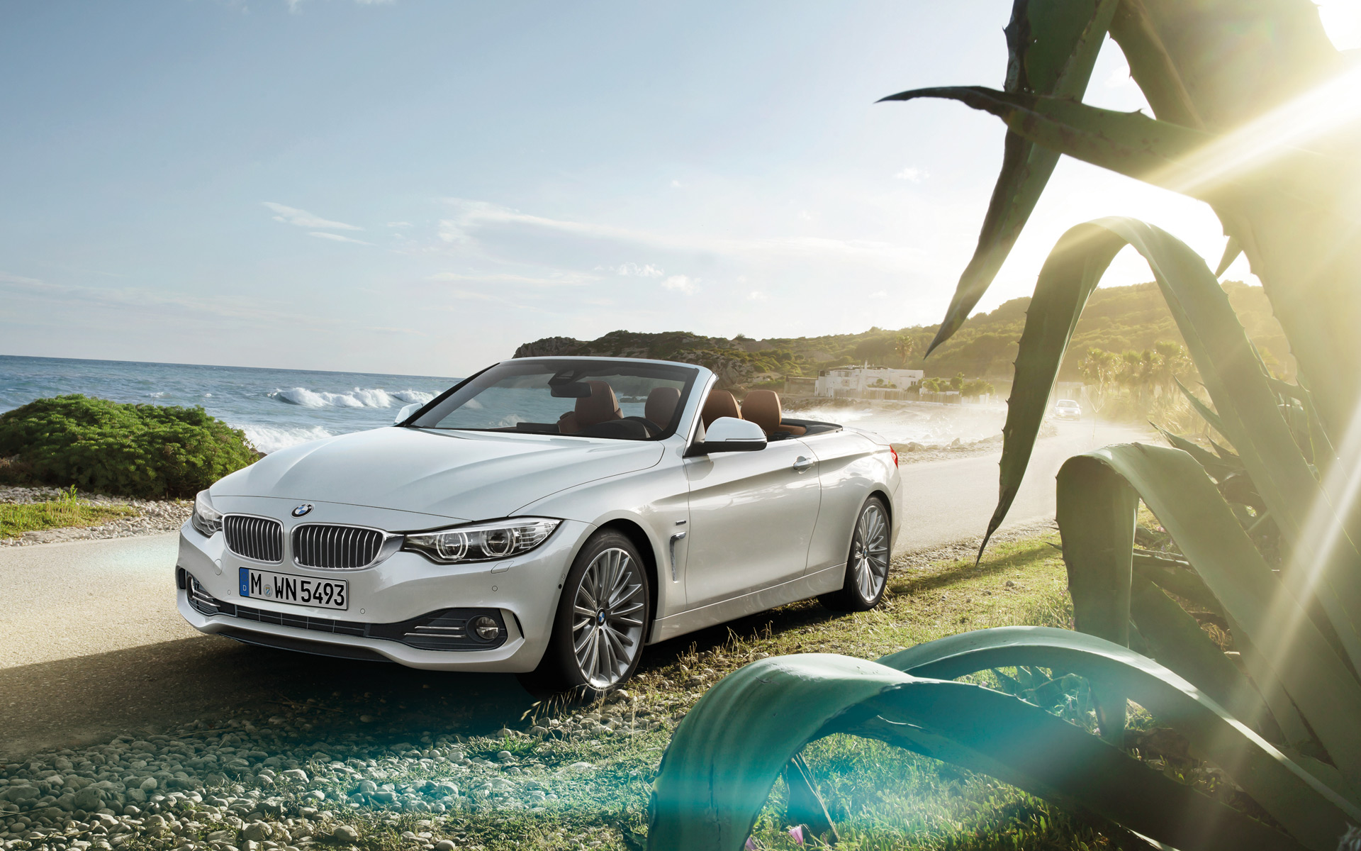 bmw 4 series convertible - video & wallpapers