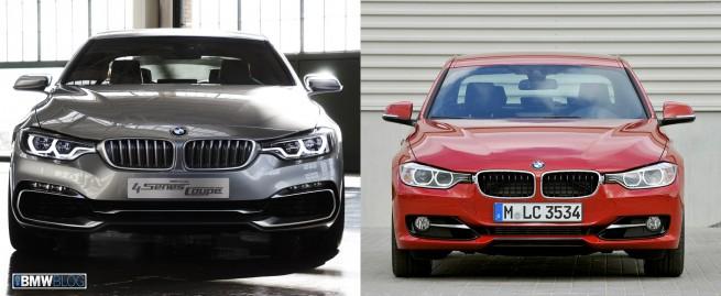 BMW F30 vs F32 655x269
