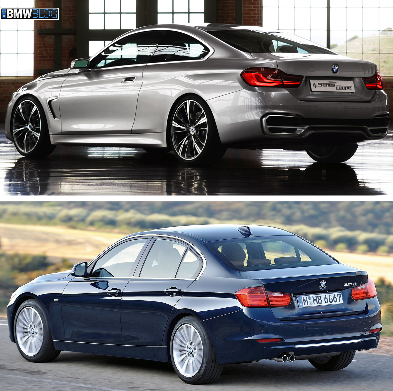 Photo Comparison G20 Bmw 3 Series Vs Facelifted Audi A4: Visual Comparison: F32 BMW 4 Series Vs. F30 3 Series Sedan