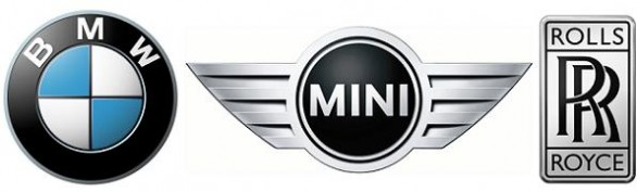 BMW MINI ROLLSROYCE LOGO131