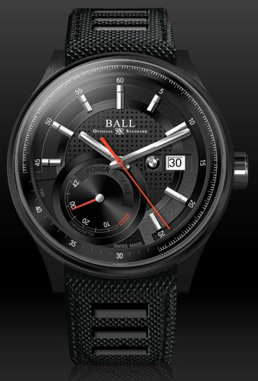 Ball BMW watch power reserve