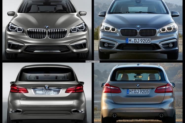 Bild Vergleich BMW 2er Active Tourer F45 Serie 2014 Concept 04 750x500