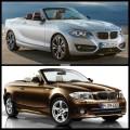 Bild Vergleich BMW 2er F23 1er E88 Cabrio 2014 01 120x120