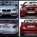Bild Vergleich BMW 2er F23 1er E88 Cabrio 2014 05 120x120