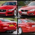 Bild Vergleich BMW 3er F30 Jaguar XE S 2014 01 120x120