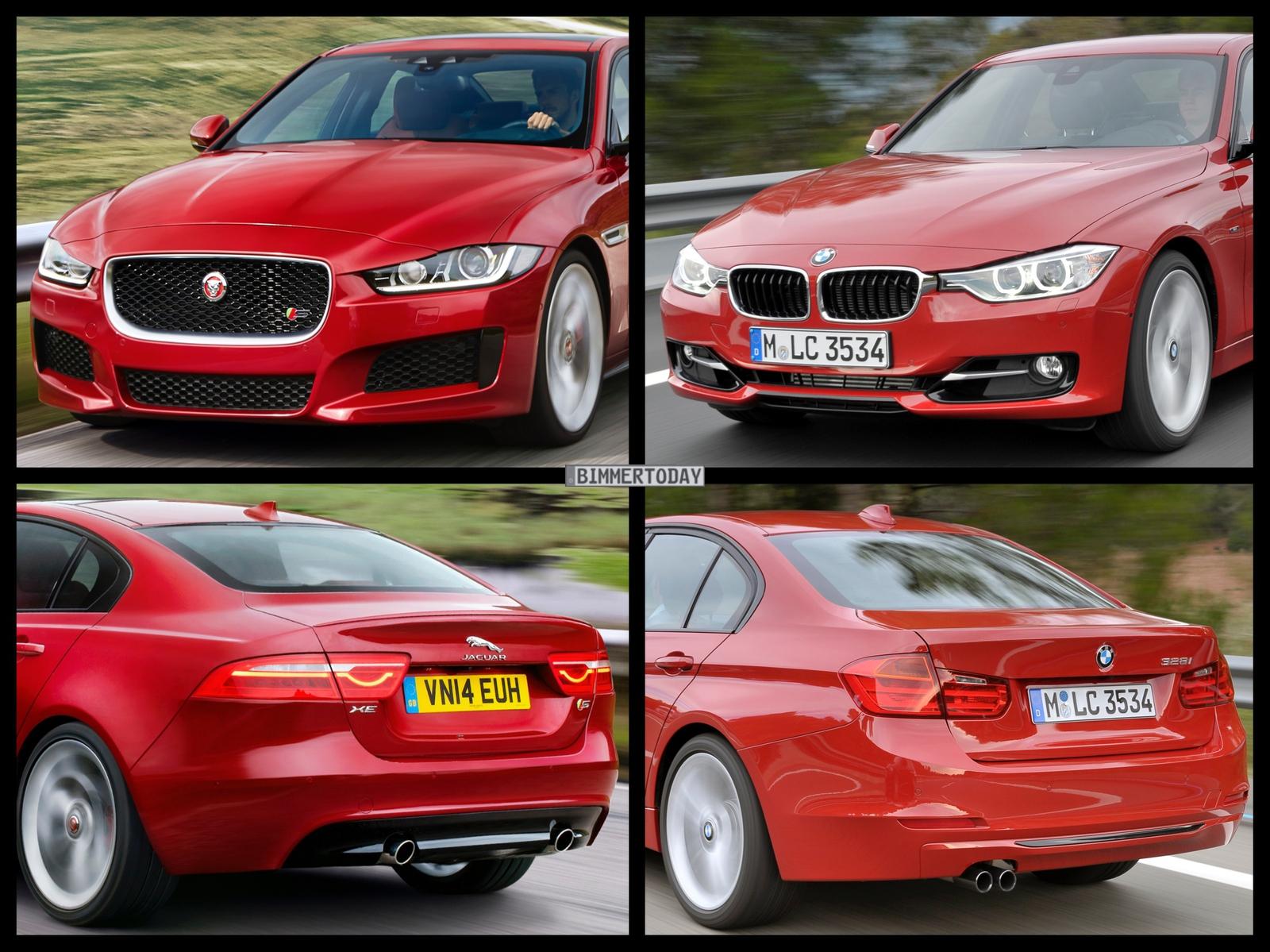 Jaguar Xe Vs Bmw 3 Series Photo Comparison