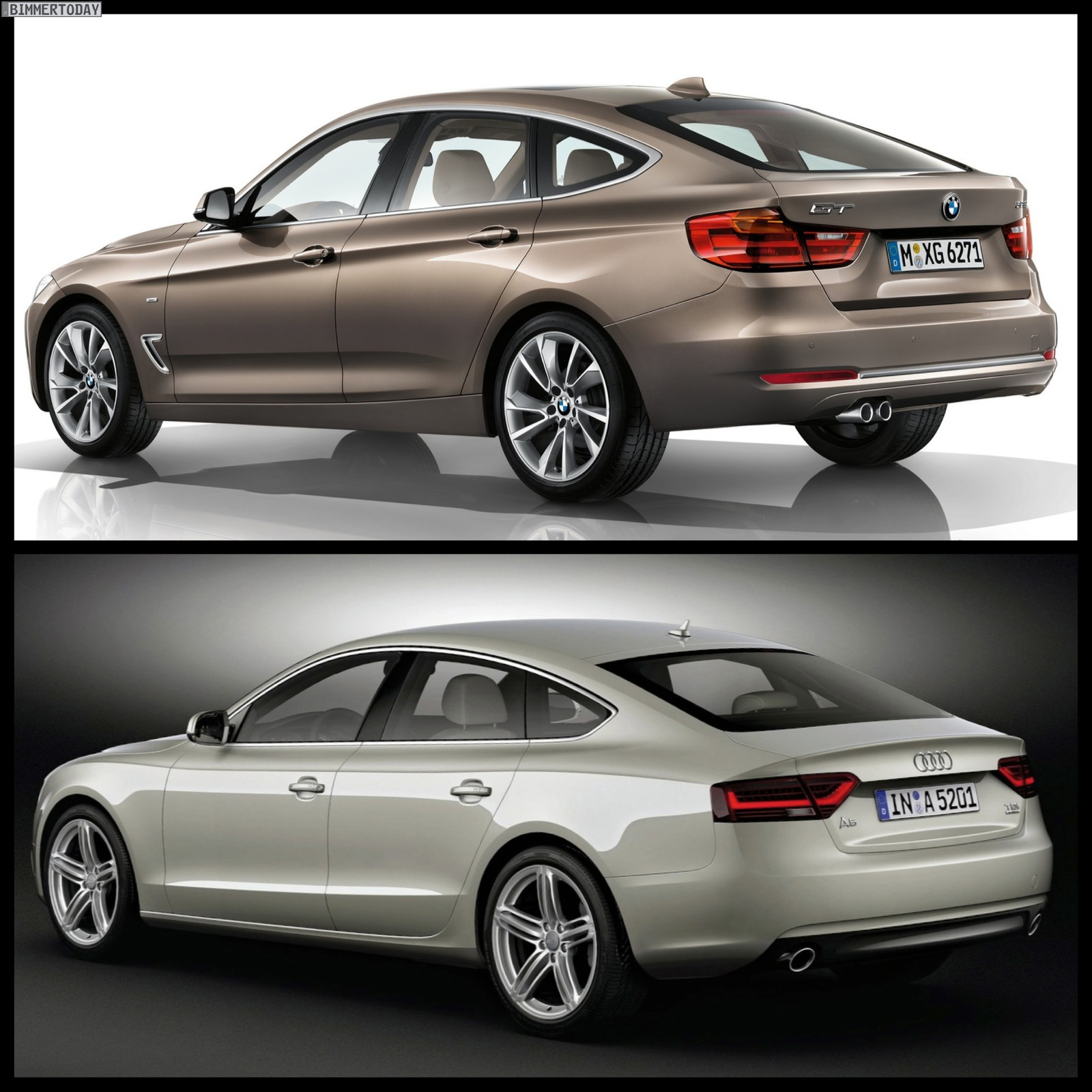 Audi 5 Price: Photo Comparison: BMW 3 Series GT Vs Audi A5 Sportback