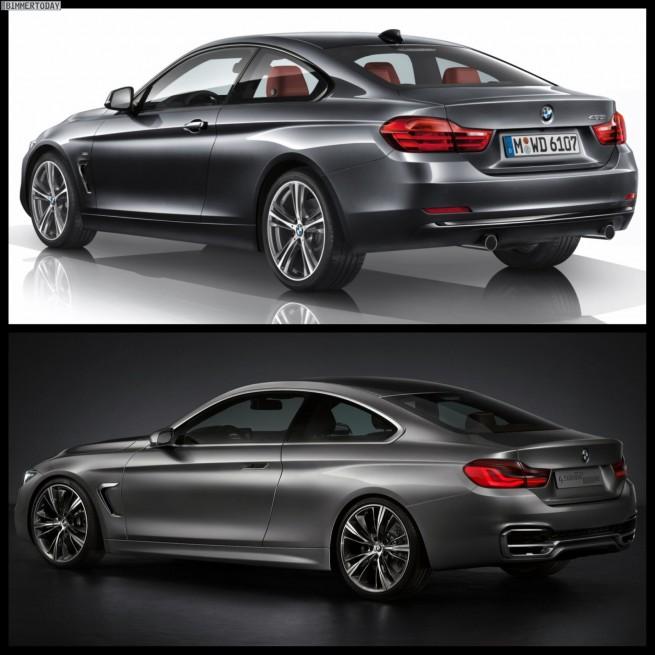 Bild Vergleich BMW 4er Coupe Serie Concept 2013 02 655x655