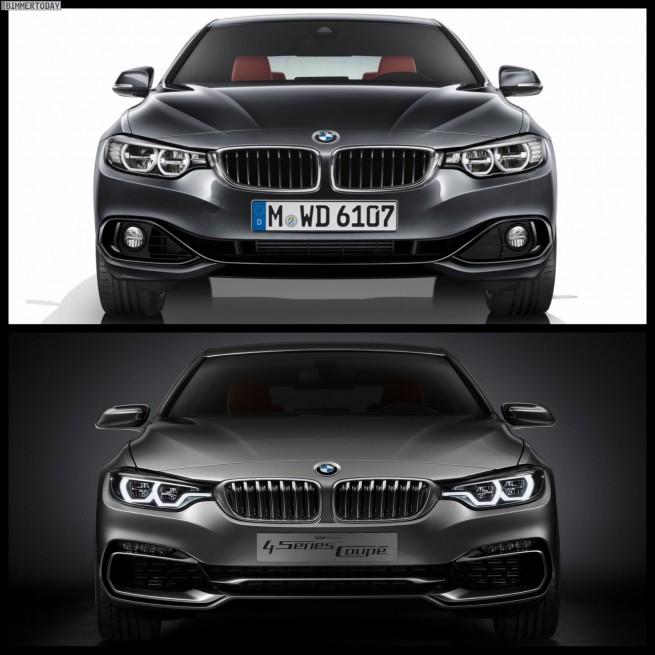 Bild Vergleich BMW 4er Coupe Serie Concept 2013 04 655x655