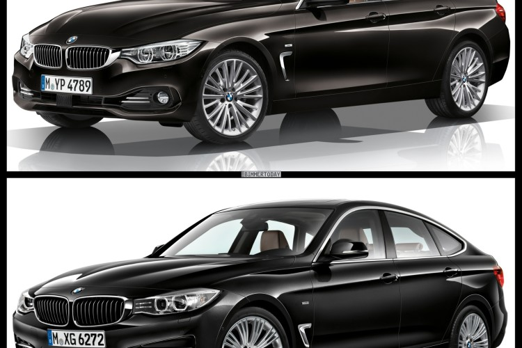 Bmw 4 Series Gran Coupe Vs 3 Gt Photo Comparison