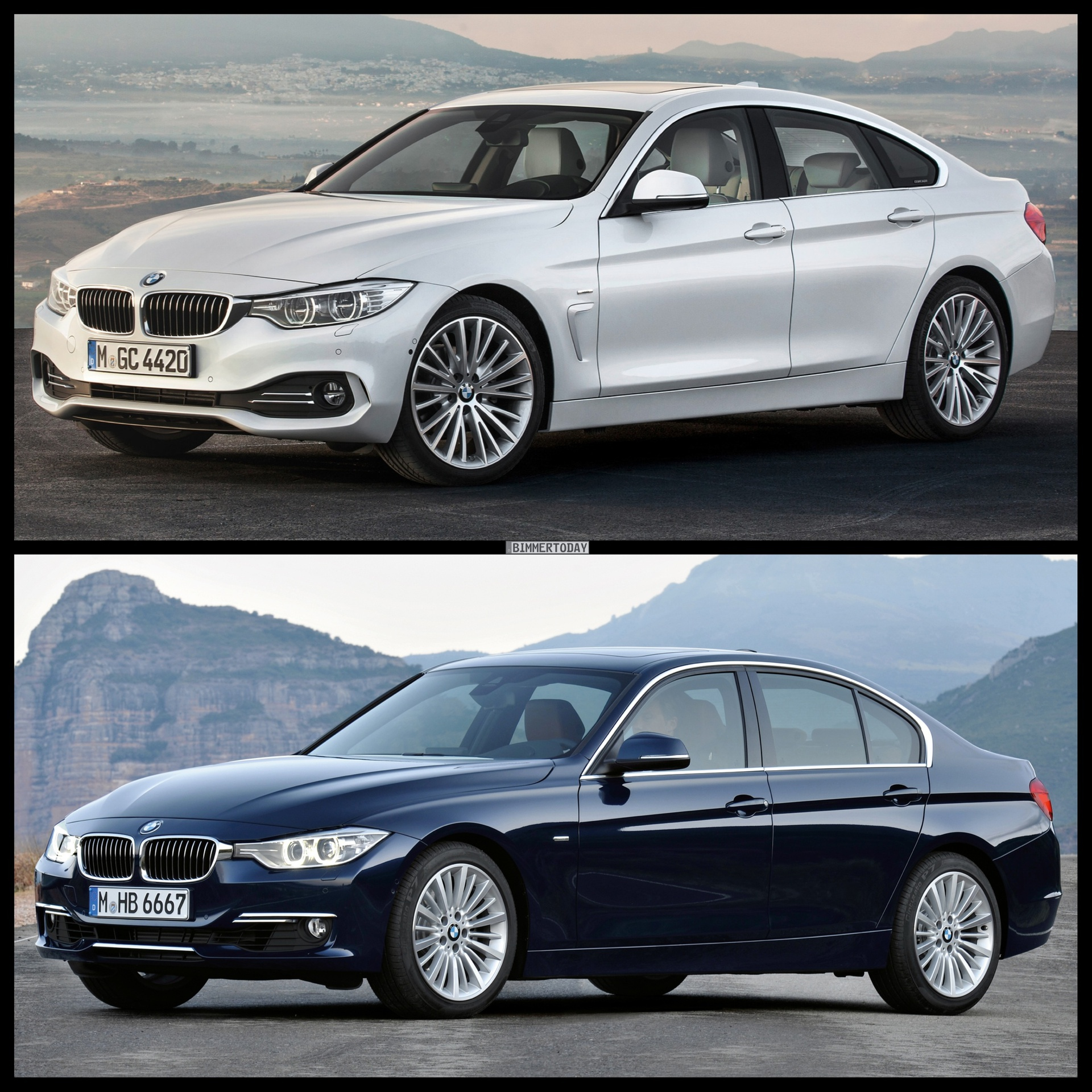 Bmw X7: BMW 4 Series Gran Coupe Vs. BMW 3 Series Sedan
