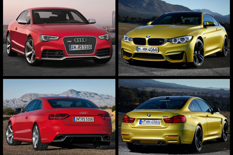 Bmw M4 Coupe Vs Audi Rs5 Comparison Test