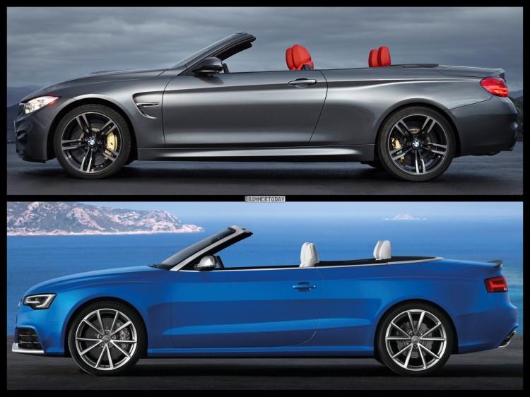 Bild Vergleich BMW M4 F83 Audi RS5 Cabrio 03 750x562