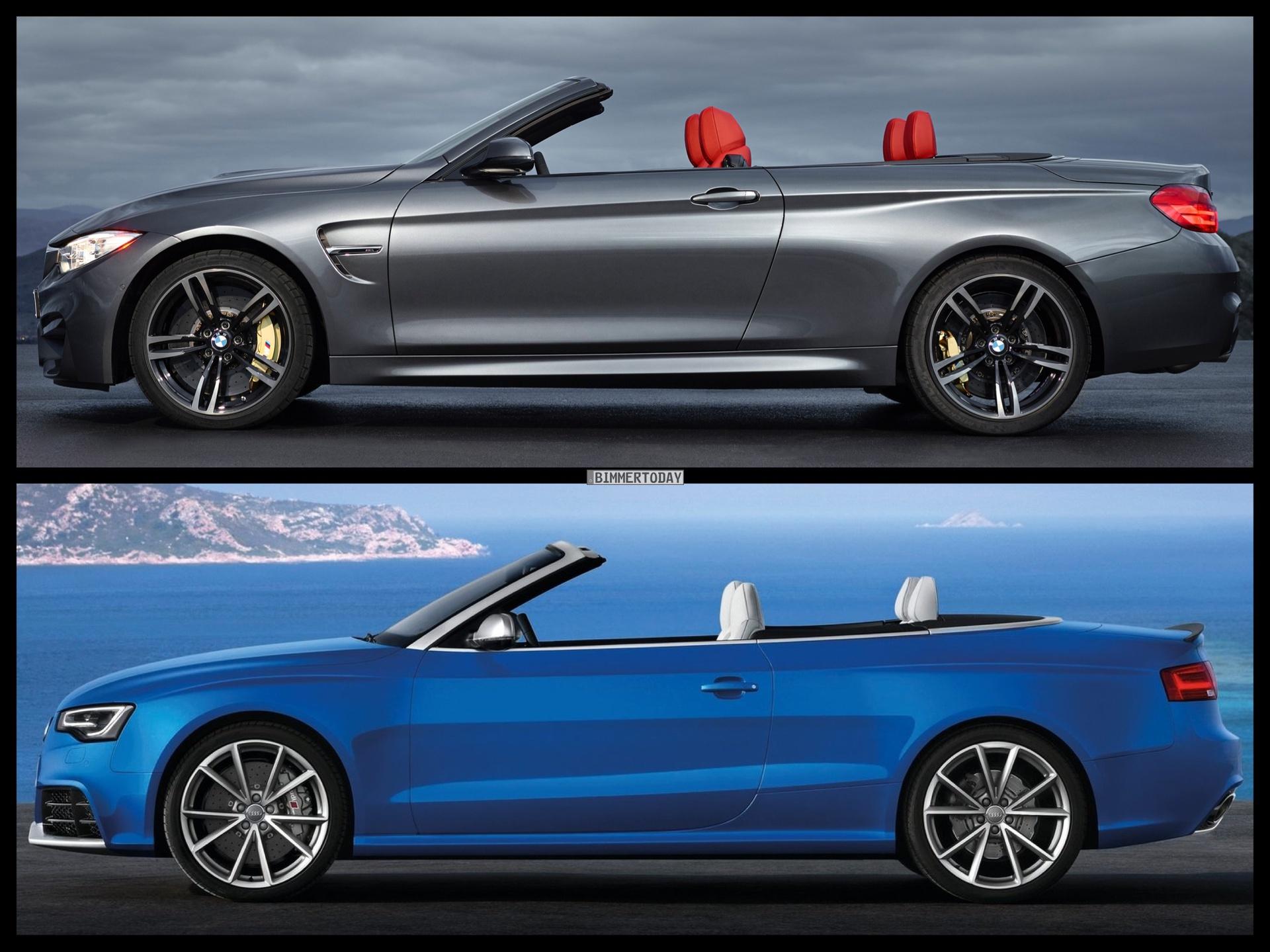 2015 BMW M4 Convertible vs. Audi RS5 Cabrio - PHOTO COMPARISON