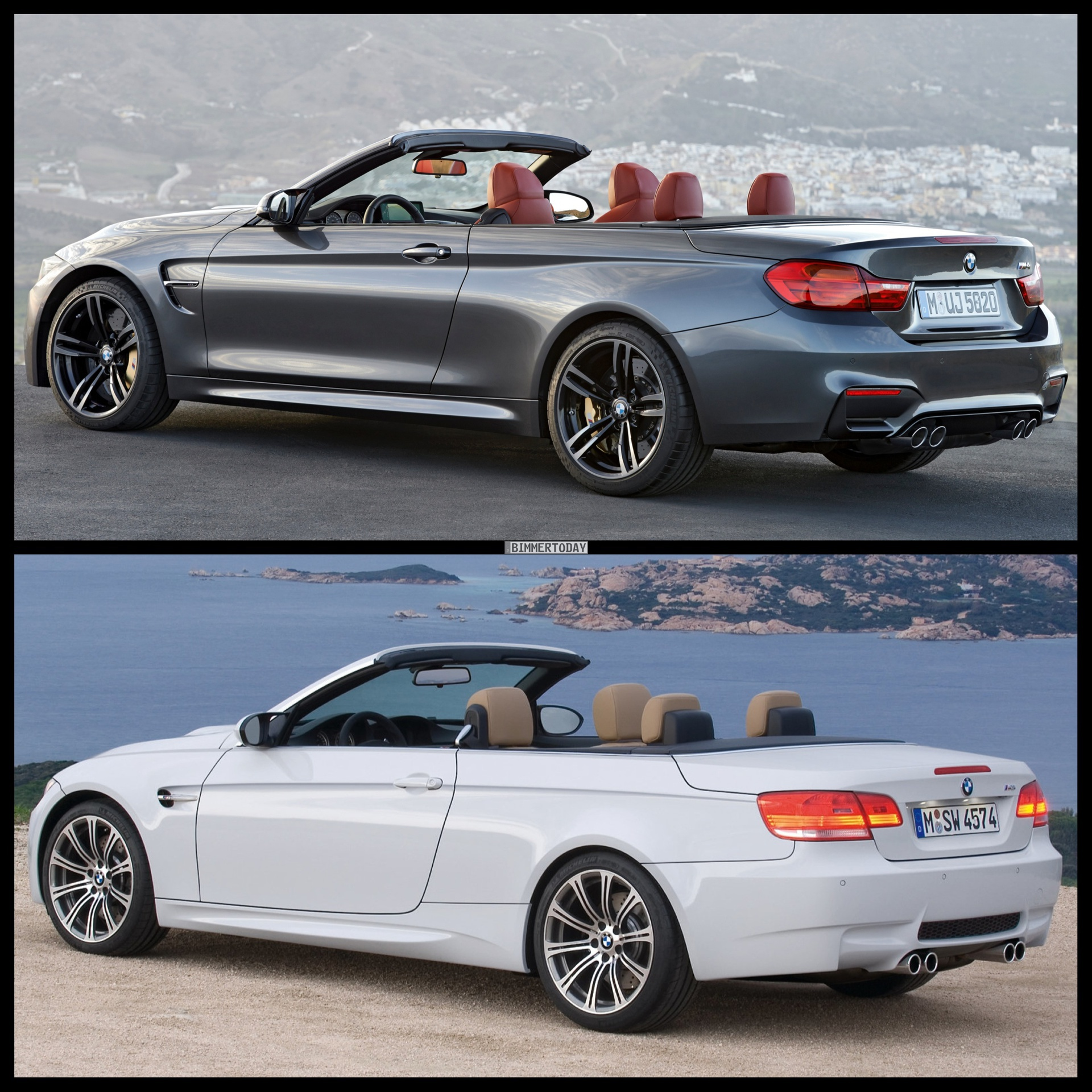 E93 BMW M3 Convertible Vs. 2015 BMW M4 Convertible