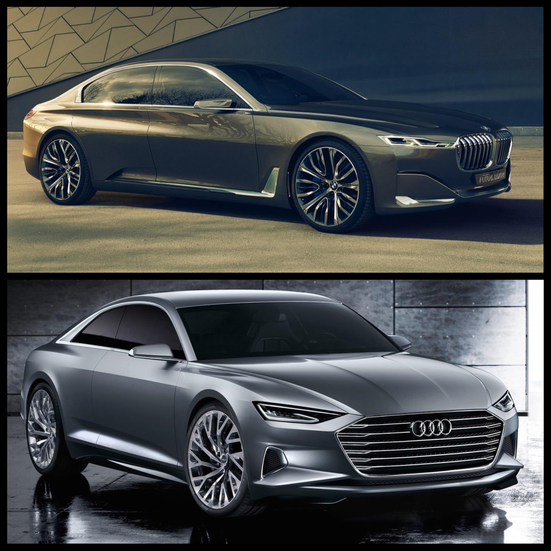Photo Comparison: Audi Prologue Concept Vs BMW Vision