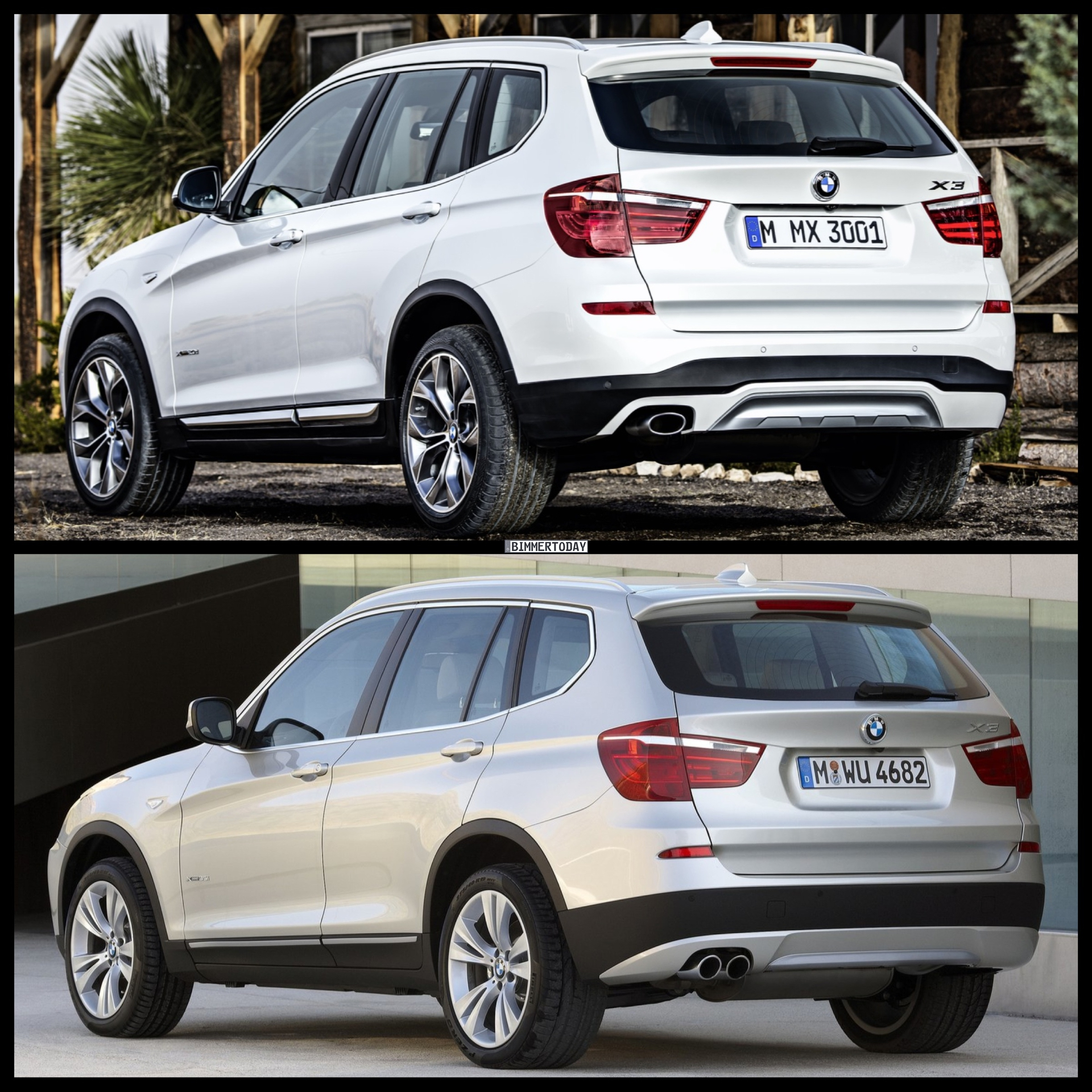 Bmw Xdrive35i Price: 2015 BMW X3 Facelift Vs. BMW X3 Pre-Facelift