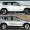 Bild Vergleich BMW X3 F25 xDrive Facelift LCI 2014 03 120x120