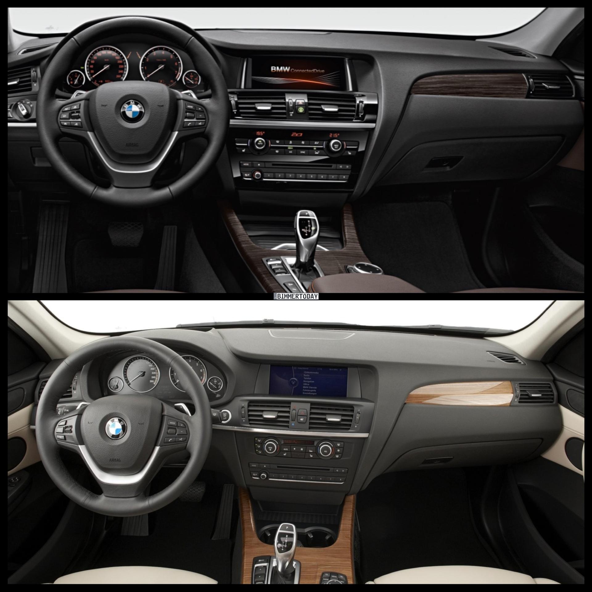 2015 BMW X3 Facelift vs. BMW X3 Pre-Facelift - Photo Comparison