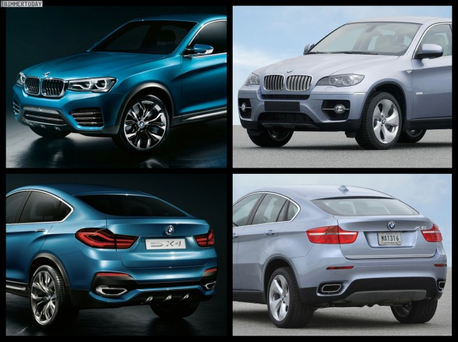 Bild-Vergleich-BMW-X4-Concept-F26-BMW-X6-E71-06