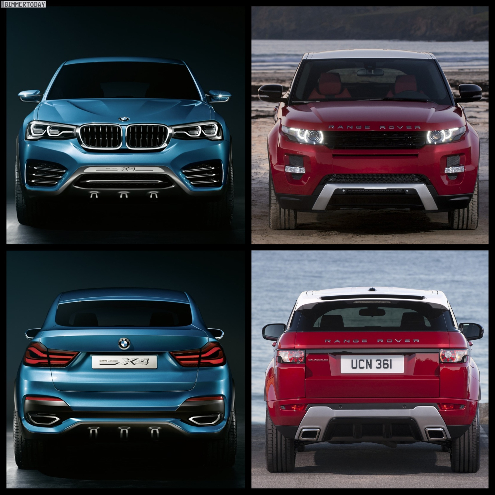 Bmw X7 Interior: BMW X4 Vs Range Rover Evoque