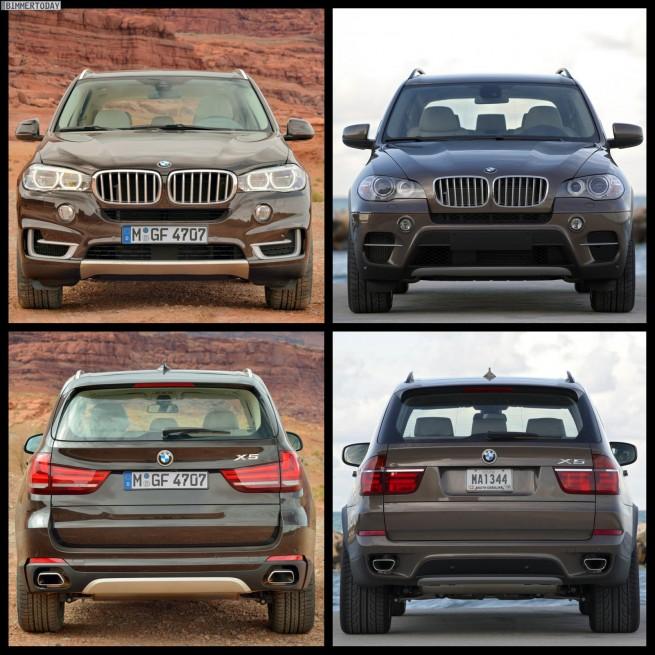 Bild Vergleich BMW X5 F15 E70 LCI 2013 04 655x655