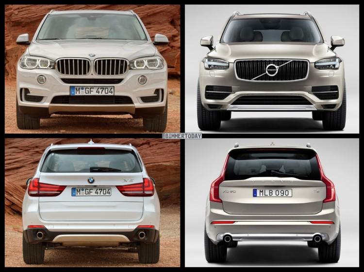 Bild-Vergleich-BMW-X5-F15-Volvo-XC90-SUV-04