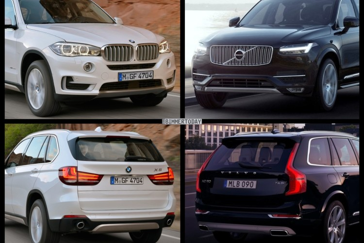 Is Volvo XC-90 a problem for the BMW X5?
