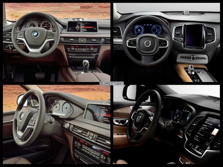 Bild Vergleich Bmw X5 F15 Volvo Xc90 Suv 06 750x562