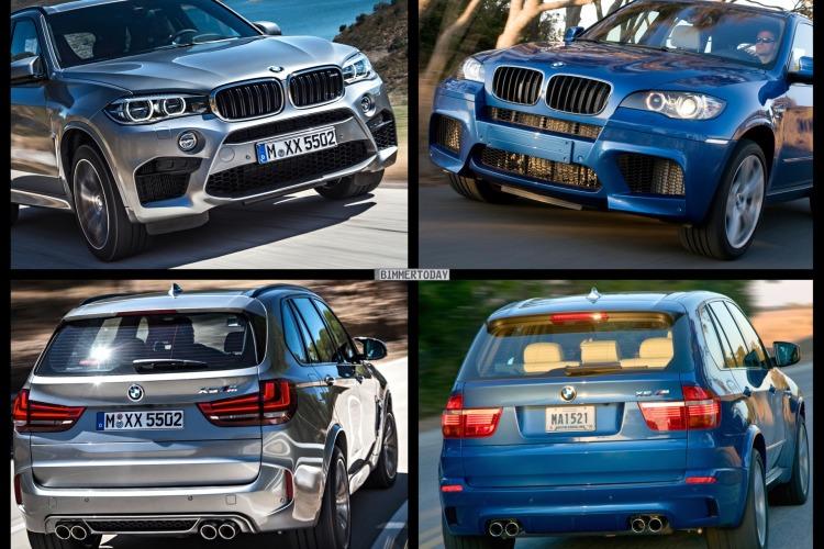 Bild Vergleich BMW X5 M F85 E70 2015 SUV 01 750x500