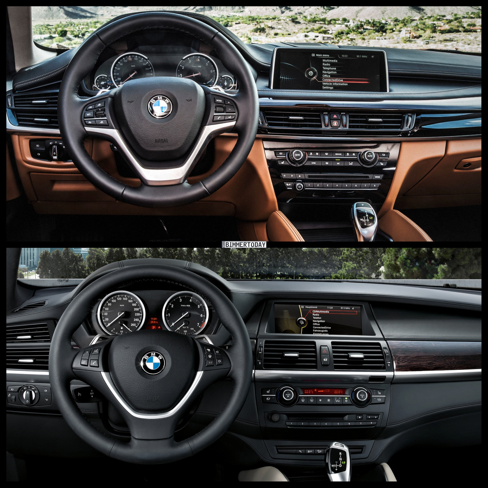 F16 Bmw X6 Vs E71 Bmw X6 Photo Comparison