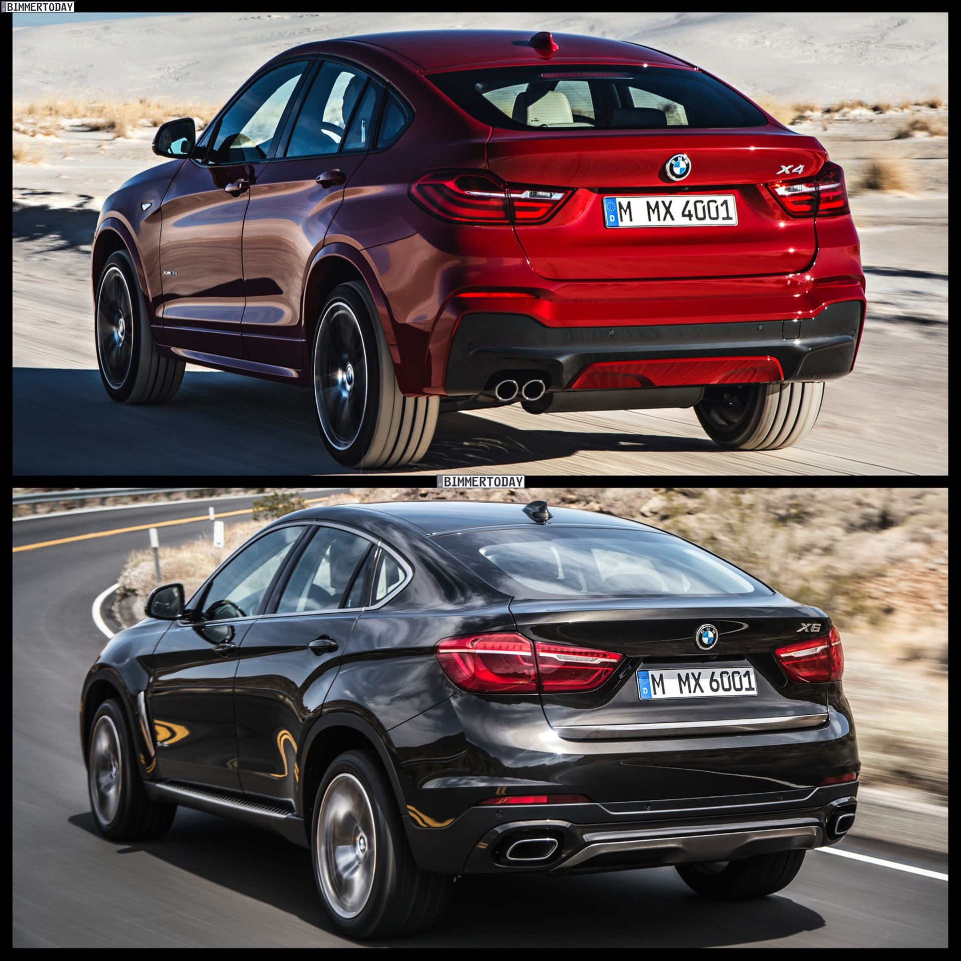 2015 bmw x4 vs 2015 bmw x6 which one to buy. Black Bedroom Furniture Sets. Home Design Ideas