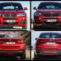 Bild Vergleich BMW X6 F16 X4 F26 SUV Coupe xDrive 2014 04 120x120