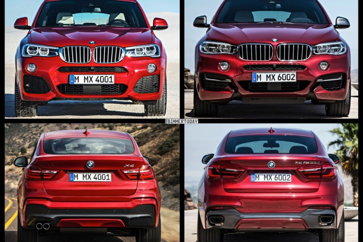 Bmw X4 Vs Bmw X6 What S The Right Choice For You