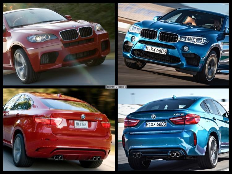 Bild Vergleich BMW X6 M F86 E71 SUV Coupe 2015 01 750x562