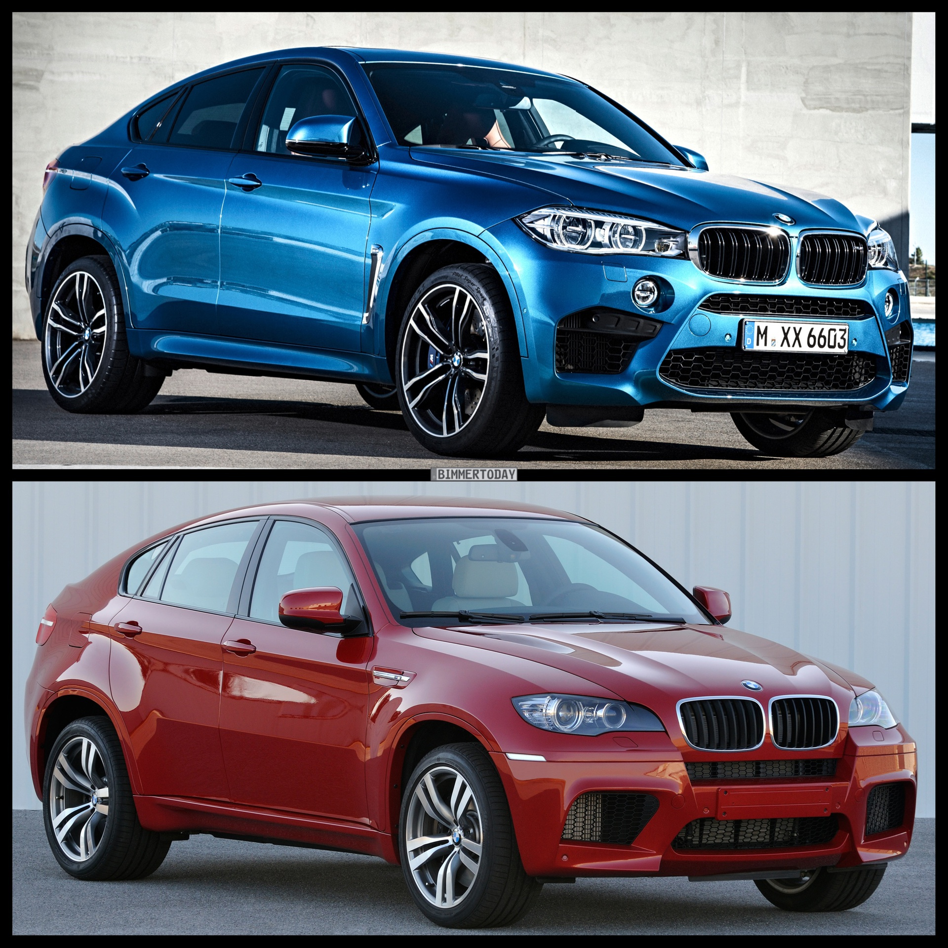 Bmw X6 Price 2015: Photo Comparison: F86 BMW X6 M Vs E71 BMW X6 M