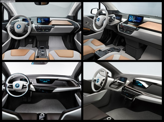 Bild Vergleich BMW i3 Concept 2011 2013 IAA 06 655x490