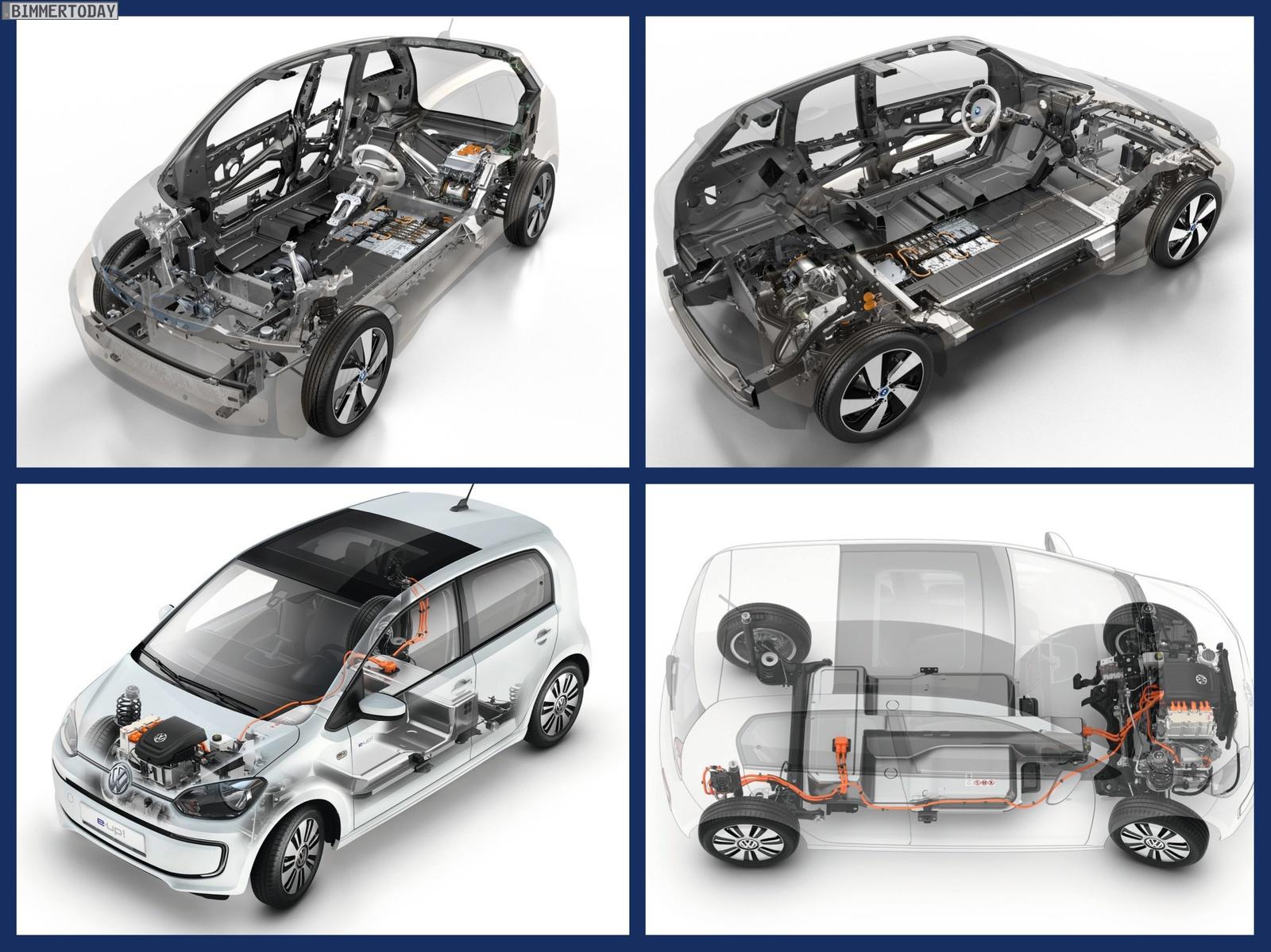 Bild Vergleich BMW i3 eDrive VW e Up 2013 06