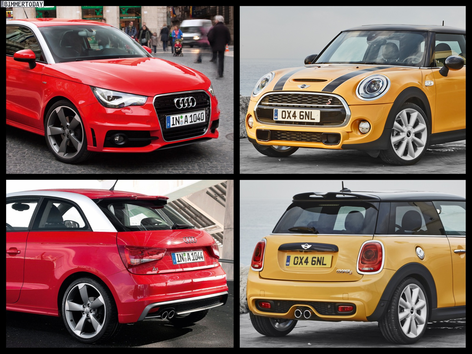 F56 Mini Cooper S Vs Audi A1 S Line Photo Comparison