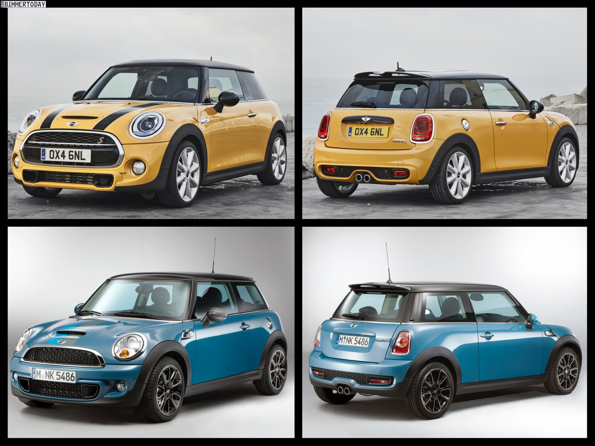 F56 Mini Vs R56 Mini Photo Comparison