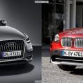 Bildvergleich Audi Q3 BMW X1 Front1 120x120