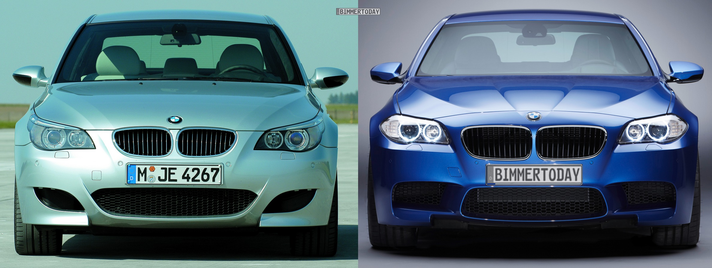 Video F10 Bmw M5 Vs E60 M5 On A Straight Line