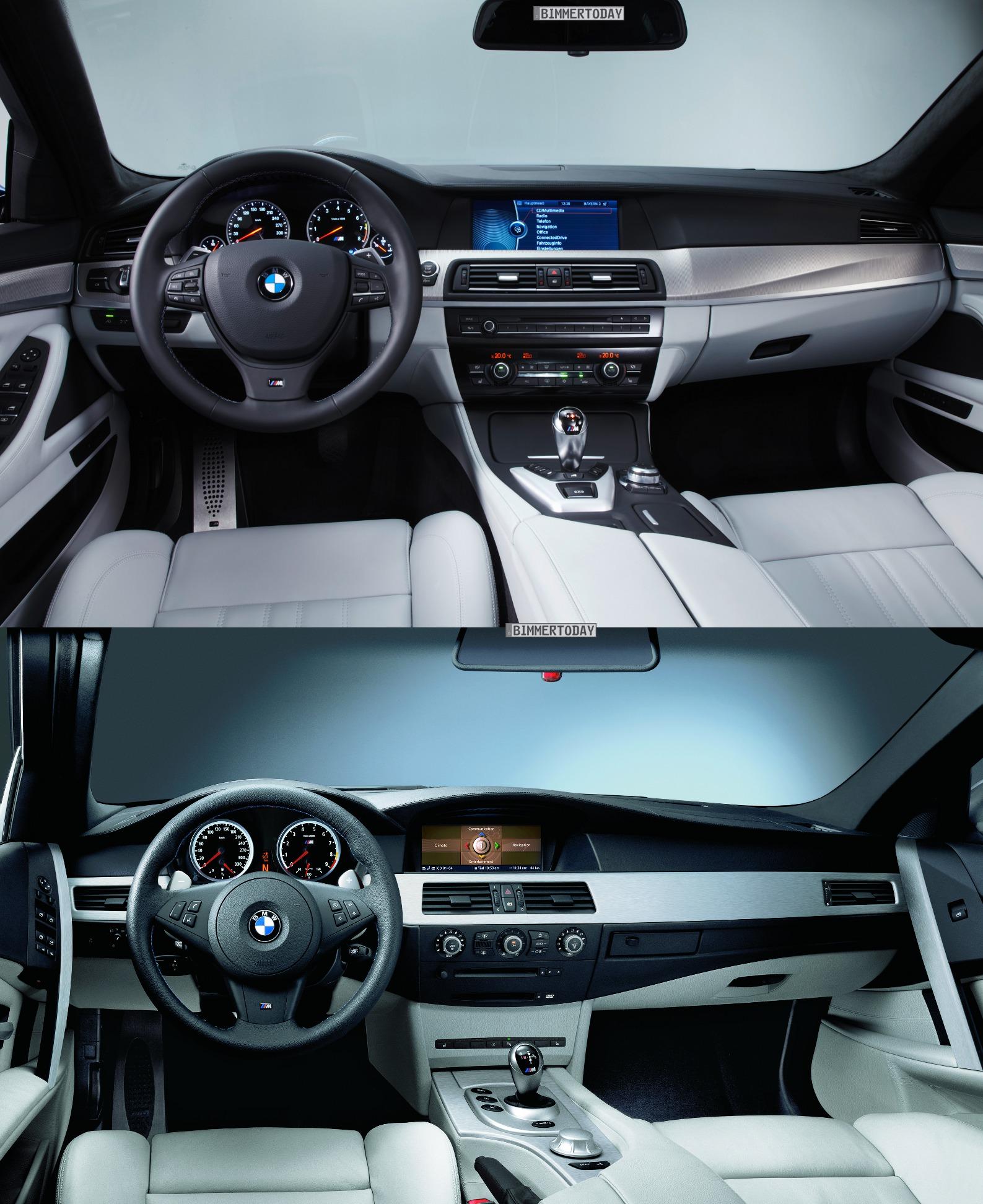 M5 E60: Photo Comparison: 2012 BMW M5 Vs. E60 M5