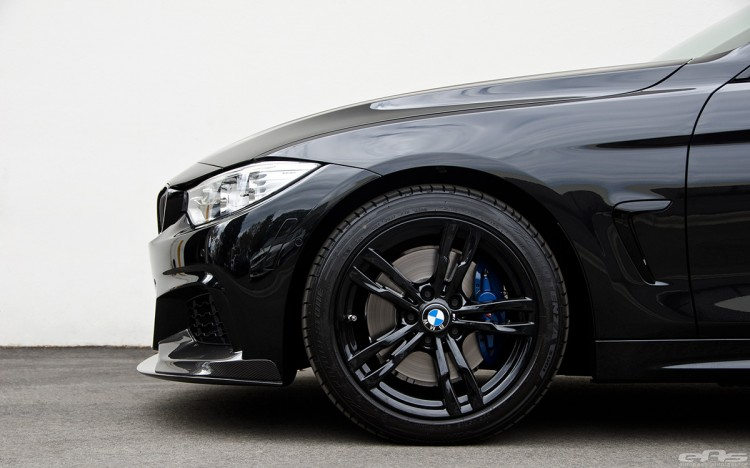 Black Sapphire 428i Gran Coupe With M Performance Parts