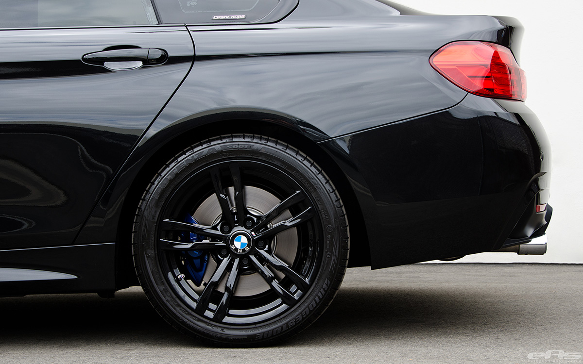 Bmw 428i Xdrive >> Black Sapphire 428i Gran Coupe With M Performance Parts