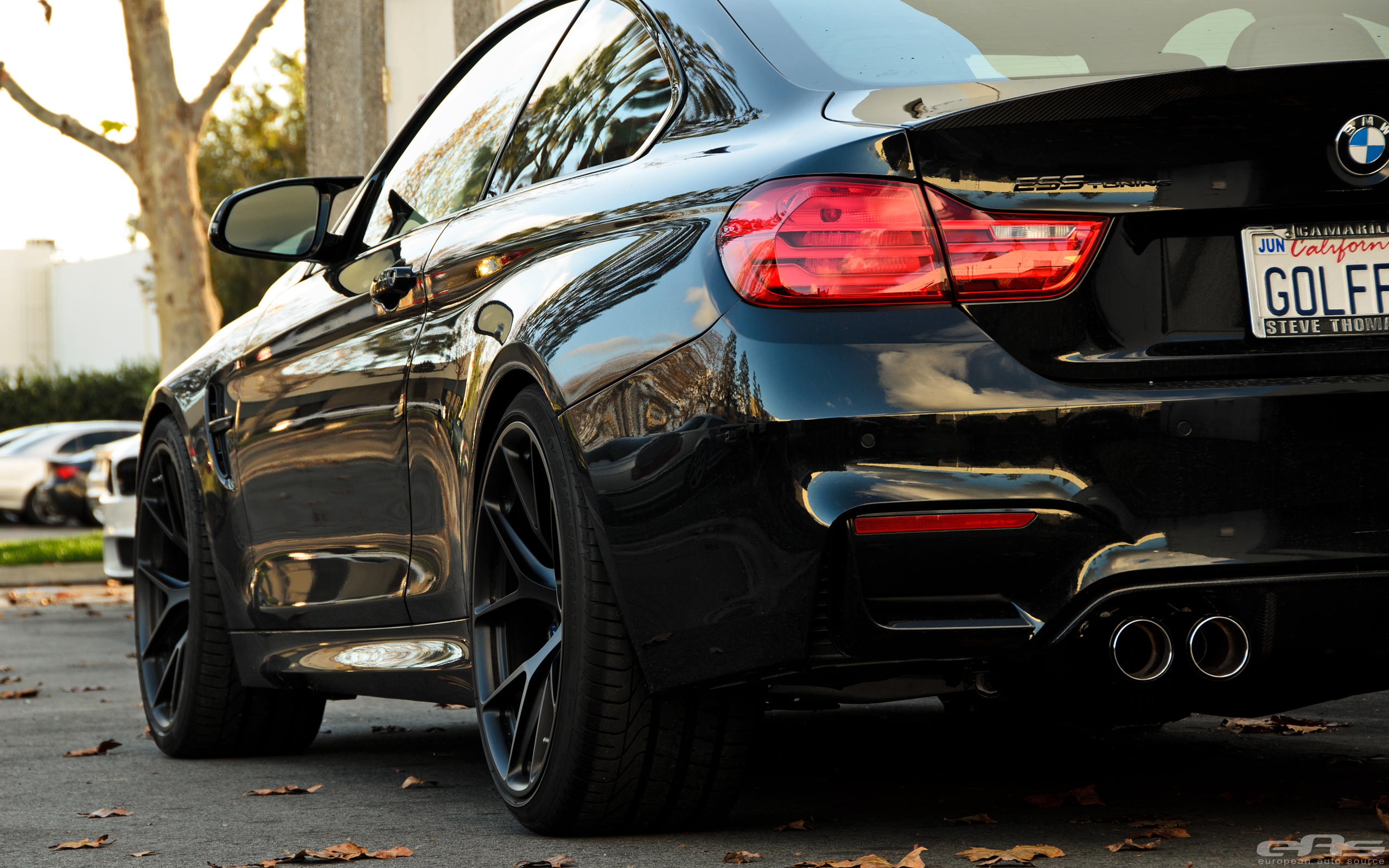 2014 BMW 335I >> Black Sapphire BMW M4 Build With An ESS Tune And Eisenmann Exhaust