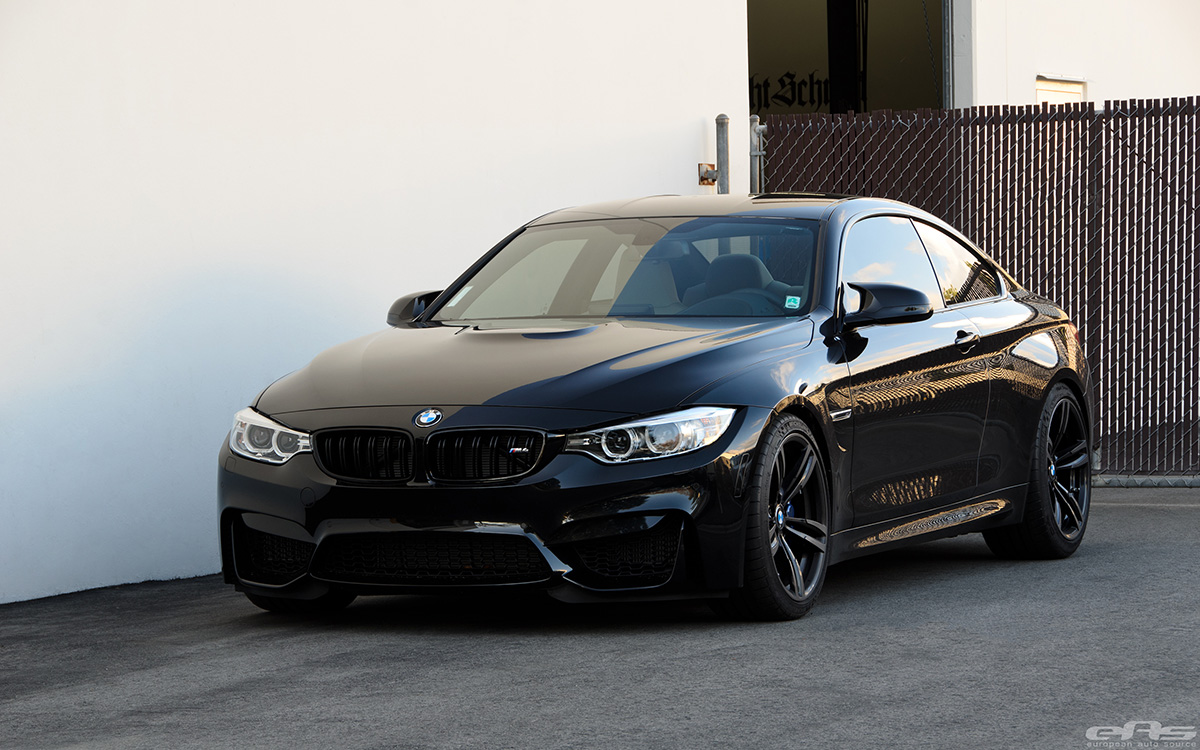 Black Sapphire Bmw M4 Gets A Tune And A Drop