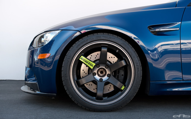 Carbon Fiber Additions For A LeMans Blue BMW E92 M3