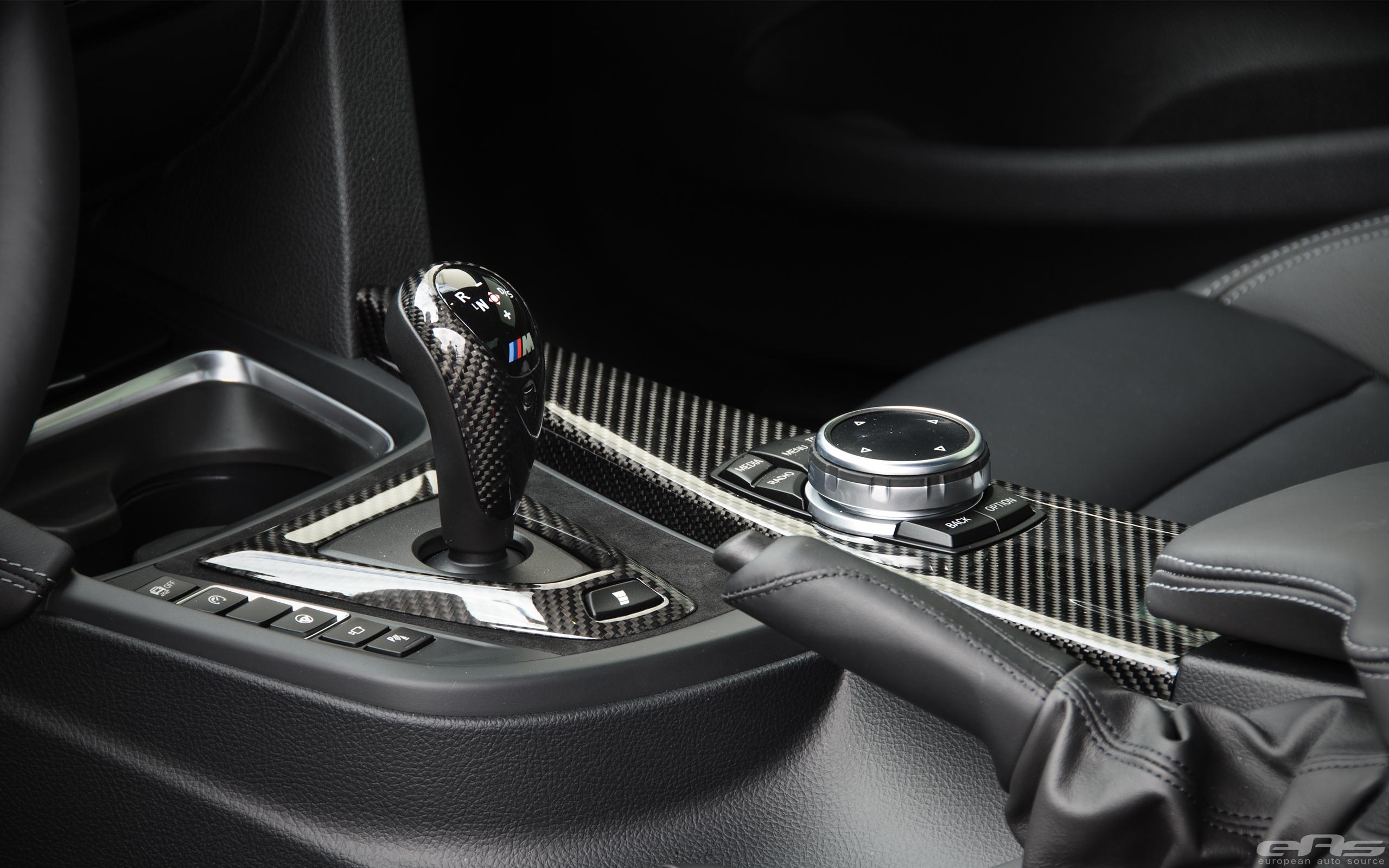 Carbon Fiber Interior Parts Installed On A BMW F82 M4 Image 4