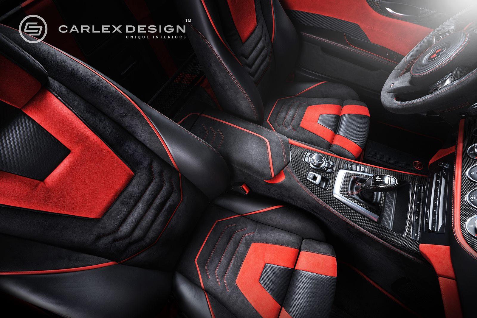Carlex Design BMW Z4 Red Carbonic Tuning E89 Innenraum 05